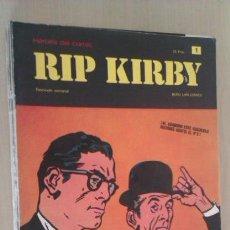 Cómics: LOTE DE 9 RIP KIRBY Nº 1,2,3,4,5,6,7,8,12 FASCÍCULO SEMANAL 25 PTS TAPA BLANDA 1973 ED BURU LAN. Lote 41410134