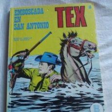 Cómics: TEX Nº 36 EMBOSCADA EN SAN ANTONIO BURU LAN . Lote 41451091