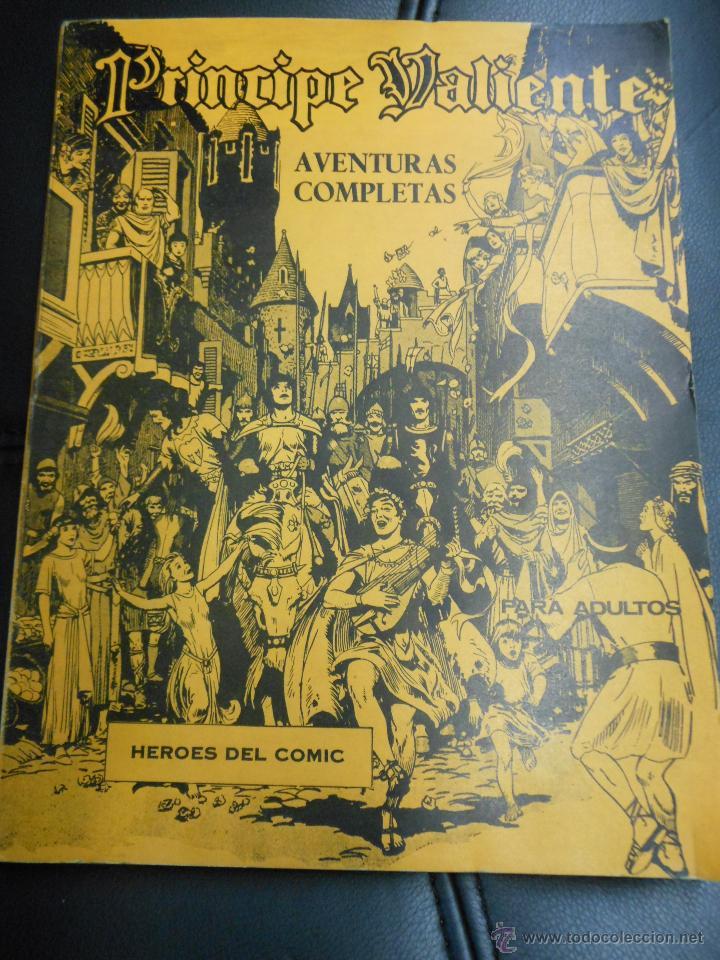 PRINCIPE VALIENTE AVENTURAS COMPLETAS HEROES DEL COMIC TEBEO BURU LAN CON TAPAS - 6 NUMEROS (Tebeos y Comics - Buru-Lan - Otros)