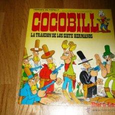 Cómics: COCOBILL Nº 7 JACOVITTI, 1973 BURULAN , 29 X 25 CMS A COLOR. Lote 41801917