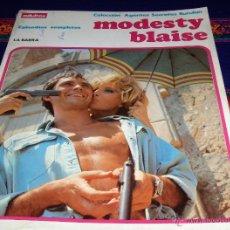 Cómics: MODESTY BLAISE ALBUM Nº 1. BURU LAN 1974. LA BARRA. BUEN ESTADO.. Lote 42071348