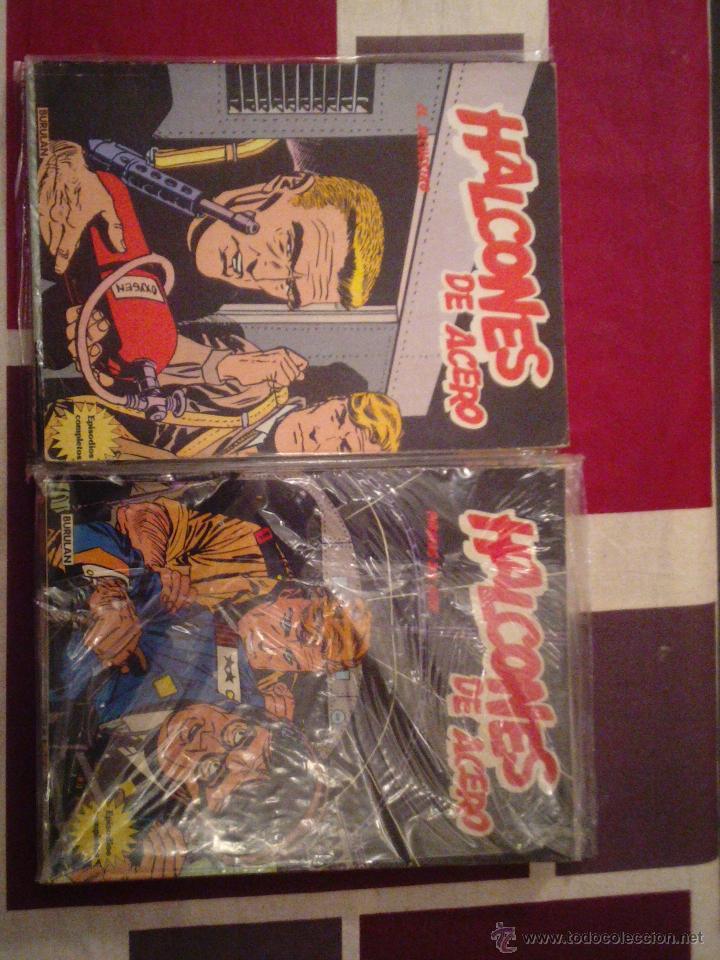 HALCONES DE ACERO - BURU LAN - COMPLETA CJ 5 - GORBAUD (Tebeos y Comics - Buru-Lan - Halcones de Acero)