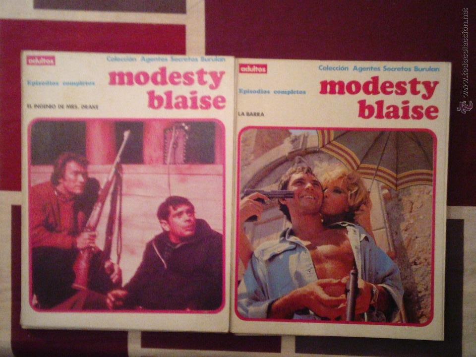 MODESTY BLAISE - BURU LAN - COMPLETA CJ 31 - GORBAUD (Tebeos y Comics - Buru-Lan - Modesty Blaise)