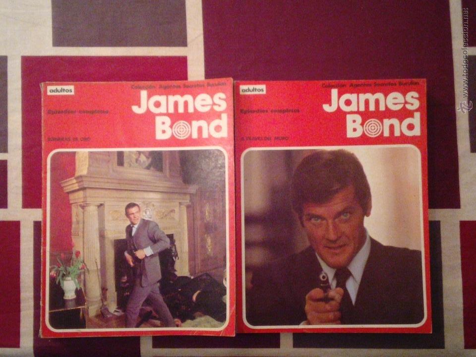 JAMES BOND-COLECCION COMPLETA - BURU LAN CJ 31 - GORBAUD (Tebeos y Comics - Buru-Lan - James Bond)