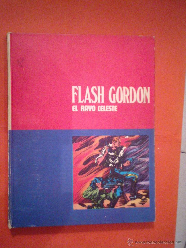 FLASH GORDON - TOMO 01 - EL RAYO CELESTE - BURU LAN CJ 27 (Tebeos y Comics - Buru-Lan - Flash Gordon)