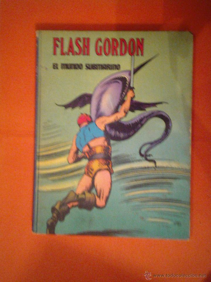 FLASH GORDON - TOMO II- EL MUNDO SUBMARINO - BURU LAN CJ 27 (Tebeos y Comics - Buru-Lan - Flash Gordon)