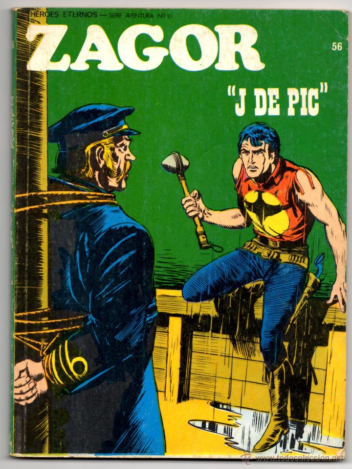 ZAGOR Nº 56 (BURU LAN 1973) (Tebeos y Comics - Buru-Lan - Zagor)