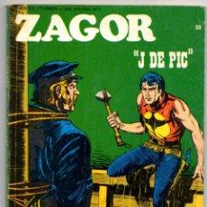 Cómics: ZAGOR Nº 56 (BURU LAN 1973). Lote 42275288