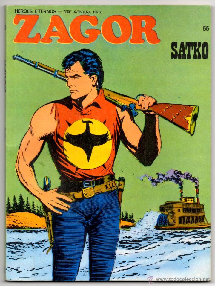 ZAGOR Nº 55 (BURU LAN 1973) (Tebeos y Comics - Buru-Lan - Zagor)