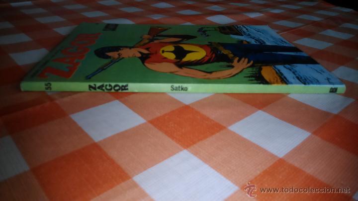 Cómics: ZAGOR nº 55 Lomo - Foto 2 - 42275292