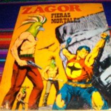 Cómics: ZAGOR Nº 58. BURU LAN 1973. 25 PTS. FIERAS MORTALES. DIFÍCIL!!!. Lote 42279562