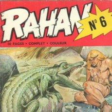Cómics: RAHAN TRIMESTRIEL Nº 6 EDITIONS VAILLANT 1973 - 76 PGS. 28 X 22 CMS.. Lote 42426718