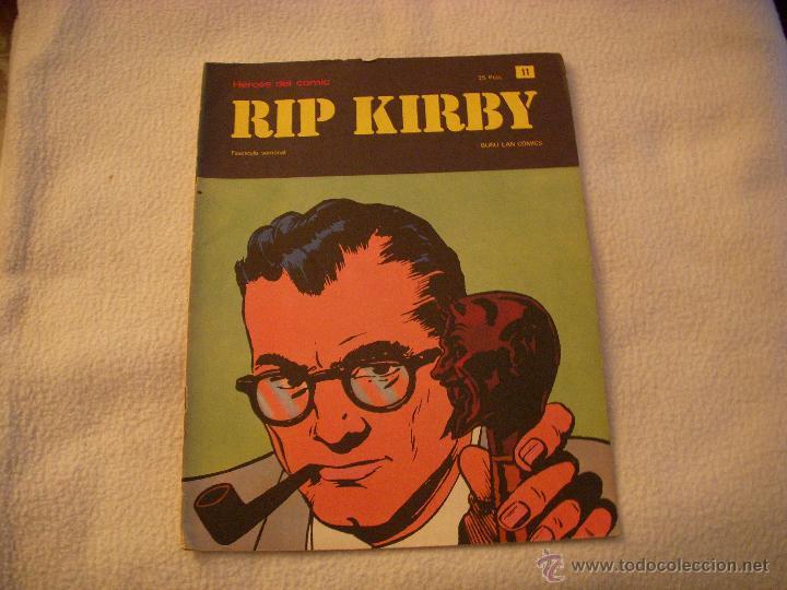 HEROES DEL COMIC, RIP KIRBY Nº 11, EDITORIAL BURULAN (Tebeos y Comics - Buru-Lan - Rip Kirby)