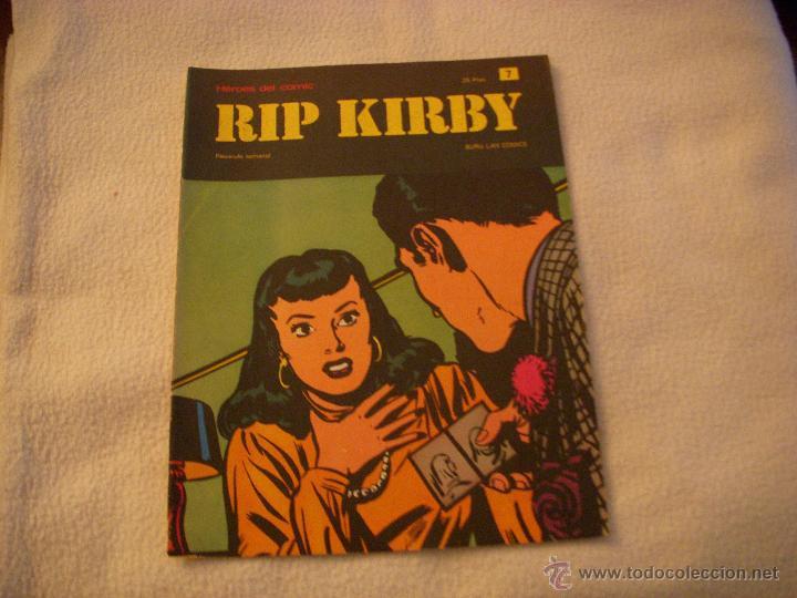 HEROES DEL COMIC, RIP KIRBY Nº 7, EDITORIAL BURULAN (Tebeos y Comics - Buru-Lan - Rip Kirby)