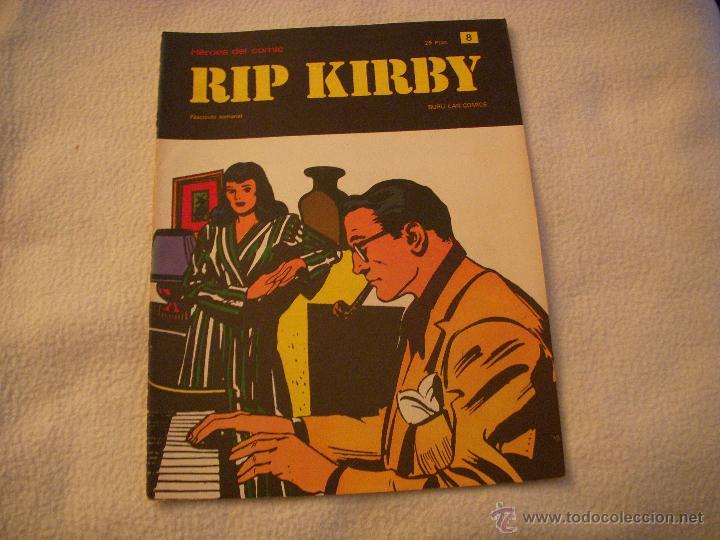 HEROES DEL COMIC, RIP KIRBY Nº 8, EDITORIAL BURULAN (Tebeos y Comics - Buru-Lan - Rip Kirby)