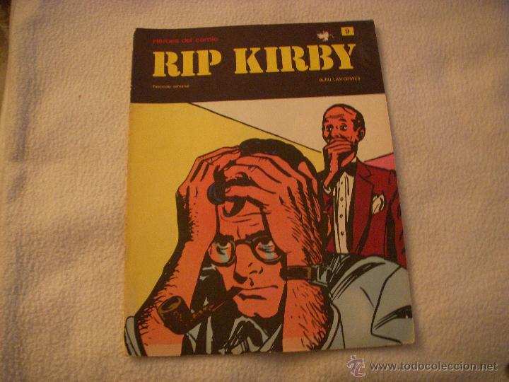 HEROES DEL COMIC, RIP KIRBY Nº 9, EDITORIAL BURULAN (Tebeos y Comics - Buru-Lan - Rip Kirby)