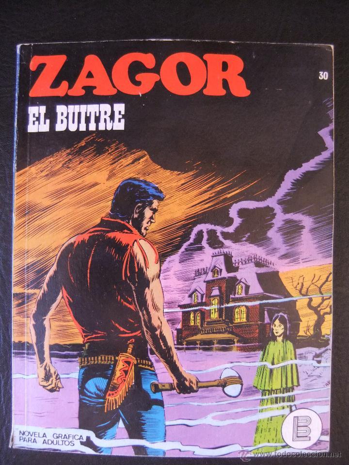 ZAGOR Nº 30 EL BUITRE BURULAN (Tebeos y Comics - Buru-Lan - Zagor)