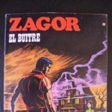 Cómics: ZAGOR Nº 30 EL BUITRE BURULAN. Lote 42694381