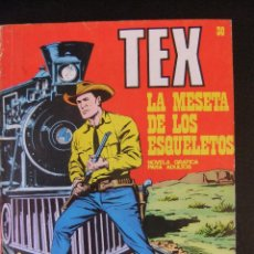 Cómics: TEX Nº 30 LA MESETA DE LOS ESQUELETOS BURU LAN. Lote 42694683