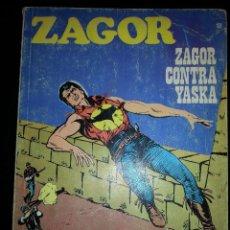 Cómics: ZAGOR : ANTIGUO COMIC DE ZAGOR Nº 13 ZAGOR CONTRA YASKA DE BURU LAN AÑO 1972. Lote 42706637