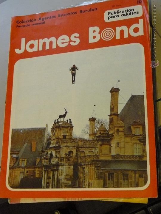 TEBEOS-COMICS CANDY - JAMES BOND - 1974 - BURU LAN - Nº 10 - HORAK -DIFICIL *UU99 (Tebeos y Comics - Buru-Lan - James Bond)