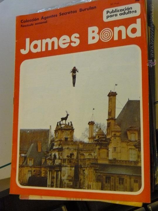 Cómics: TEBEOS-COMICS CANDY - JAMES BOND - 1974 - BURU LAN - Nº 10 - HORAK -DIFICIL *UU99 - Foto 2 - 43114149