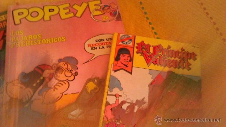 Cómics: Lote de 4 comics variados 1 de popeye-1 de don quijote de la mancha-1 de SCOOBY-DU-El principe valie - Foto 2 - 43123270