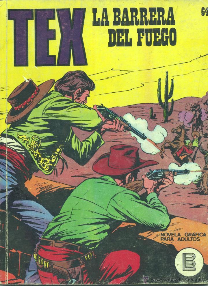TEX Nº64 (EDITORIAL BURULAN, 1971) (Tebeos y Comics - Buru-Lan - Tex)