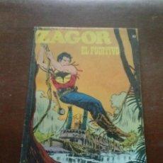 Cómics: COMICS ZAGOR Nº 63 EL FUGITIVO. Lote 43395907