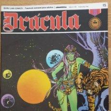 Comics: DRÁCULA Nº 15 EL SONIDO DEL SILENCIO.. Lote 43641311