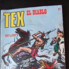 Cómics: TEX Nº 67 EL DIABLO. Lote 43718773