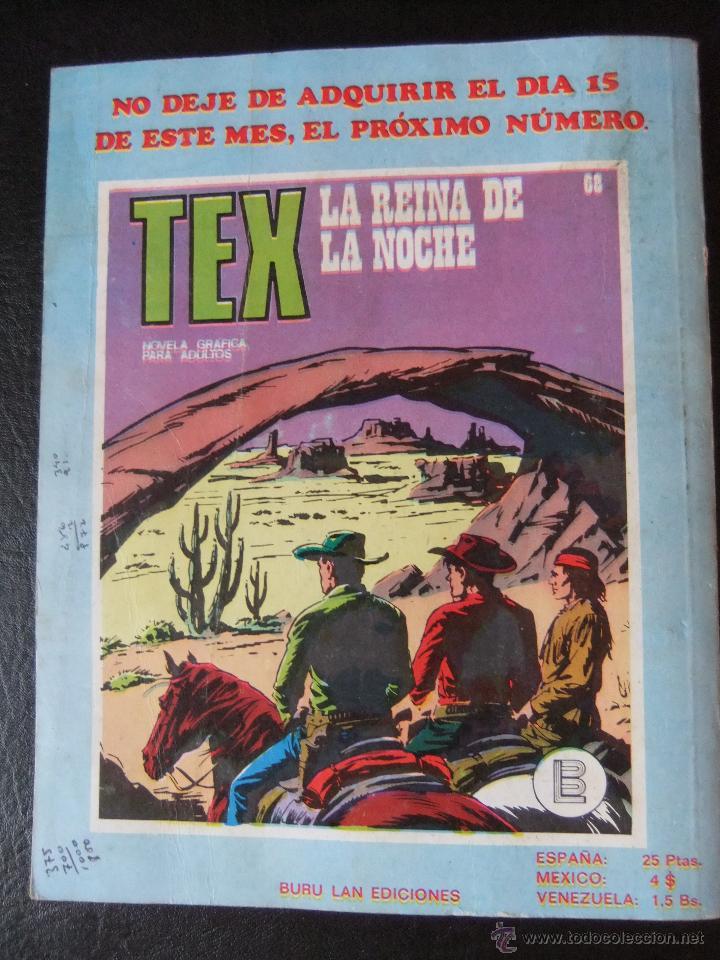 Cómics: TEX Nº 67 EL DIABLO - Foto 2 - 43718773