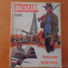 Cómics: SHERIFF KENDALL Nº 4 (DE 5) CON 2 EPISODIOS COMPLETOS - BURU-LAN AÑO 1974. Lote 43775095