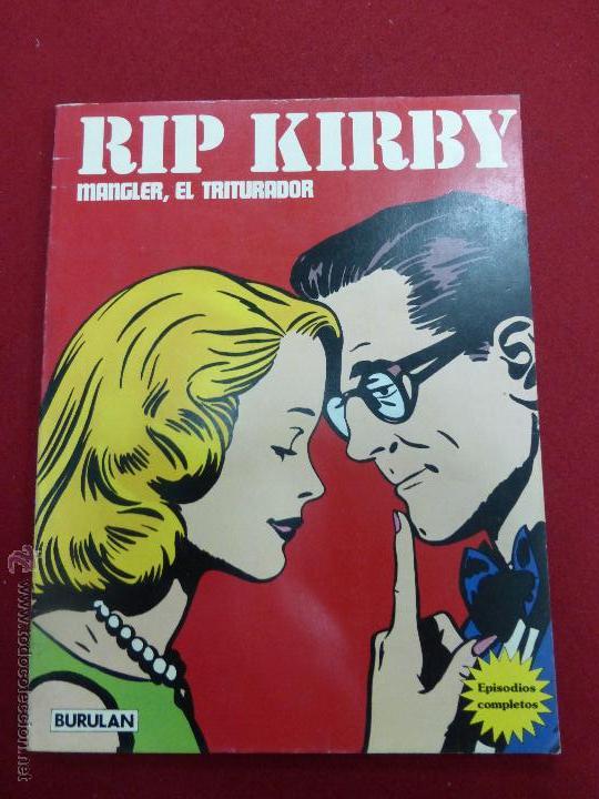 RIP KIRBY-MANGLER, EL TRITURADOR 1973 EDITORIAL BURULAN - BUEN ESTADO (Tebeos y Comics - Buru-Lan - Rip Kirby)