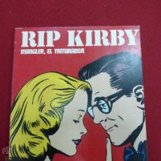 Cómics: RIP KIRBY-MANGLER, EL TRITURADOR 1973 EDITORIAL BURULAN - BUEN ESTADO. Lote 43864027