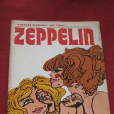 Cómics: REVISTA MENSUAL DEL COMIC - ZEPPELIN - Nº 1. Lote 43898557