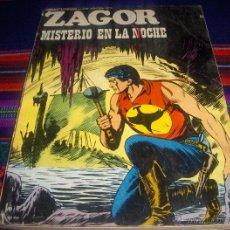 Cómics: ZAGOR Nº 59. BURU LAN 1973, 25 PTS. MISTERIO EN LA NOCHE. DIFÍCIL!!!!!!!. Lote 44081457
