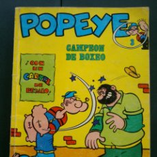 Cómics: COMIC - COLECCION POPEYE Nº 3, CAMPEON DE BOXEO, BURU LAN 1970. Lote 44126978