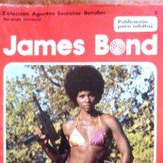 Cómics: JAMES BOND . COL AGENTES SECRETOS BURU LAN Nº 2 FASCICULO SEMANAL . Lote 44307158