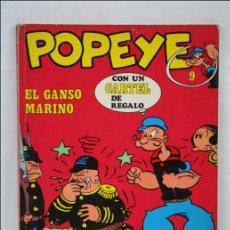Cómics: CÓMIC / TEBEO POPEYE - Nº 9. EL GANSO MARINO - EDITA BURU LAN - MEDIDAS 26 X 18 CM. Lote 44340097