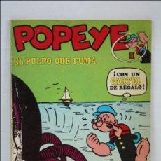 Cómics: CÓMIC / TEBEO POPEYE - Nº 11. EL PULPO QUE FUMA - EDITA BURU LAN - MEDIDAS 26 X 18 CM. Lote 44340119
