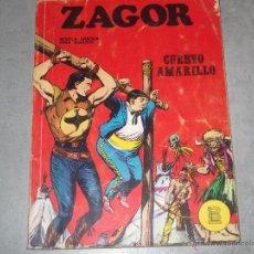 Cómics: ZAGOR - CUERVO AMARILLO Nº 4 - 1972. Lote 44342914
