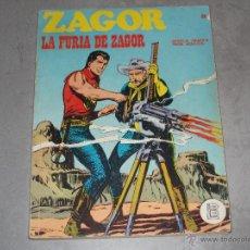 Cómics: ZAGOR - LA FURIA DE ZAGOR Nº 28 - 1972. Lote 44343436