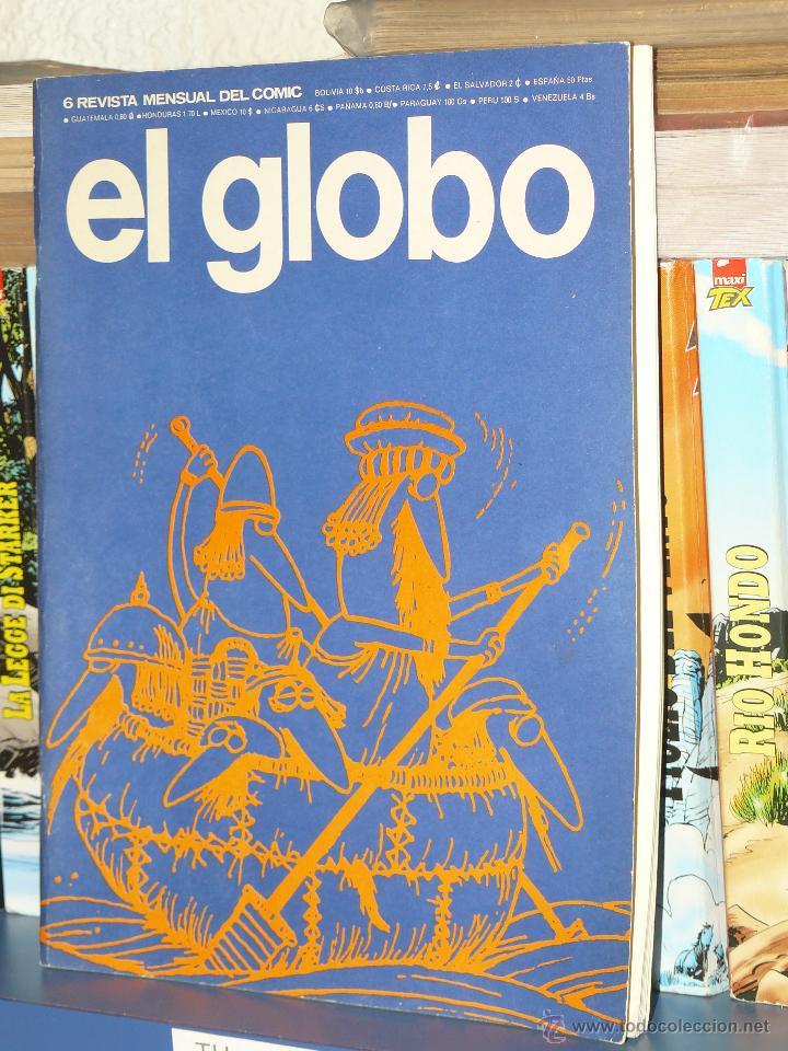 Cómics: TEBEOS-COMICS GOYO - GLOBO - LOTE NUMS 1, 6 Y 10 - SUELTOS PREGUNTAR- *BB99 - Foto 2 - 44622445