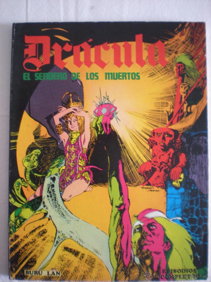DRACULA # EL SENDERO DE LOS MUERTOS (BURU LAN) (Tebeos y Comics - Buru-Lan - Drácula)