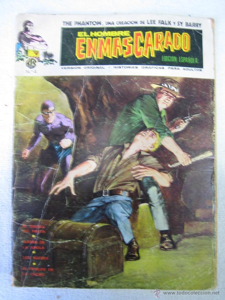EL HOMBRE ENMASCARADO. ED ESPAÑOLA. N4 (Tebeos y Comics - Buru-Lan - Hombre Enmascarado)