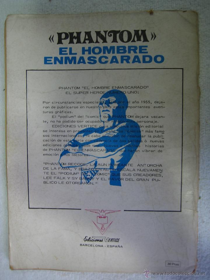 Cómics: El hombre Enmascarado. ED Española. N4 - Foto 3 - 44730705