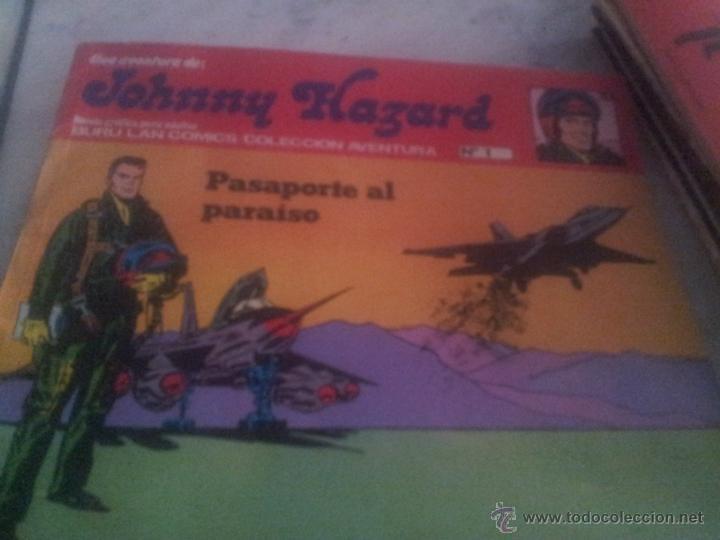 PASAPORTE AL PARAISO-JOHNNY HAZARD N.1 (Tebeos y Comics - Buru-Lan - Otros)