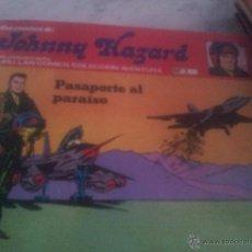 Cómics: PASAPORTE AL PARAISO-JOHNNY HAZARD N.1. Lote 44766893