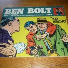 Cómics: BEN BOLT NUM. 3 KID JERICHO - COLECCIÓN AVENTURA BURU LAN COMICS 1973. Lote 44801399